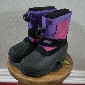 Totes Girls Winter Snow Boots